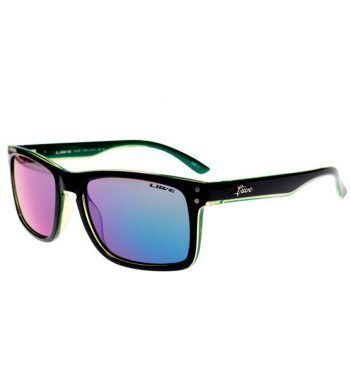 GAFAS DE SOL CHEAP-THRILL-REVO-MATT-BLACK-LIME